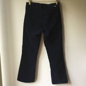MOTHER Pants - MOTHER Outsider Crop in Hopscotch Navy
